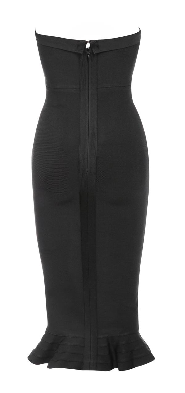 Clothing Bandage Dresses Fabrizia Black Bandage