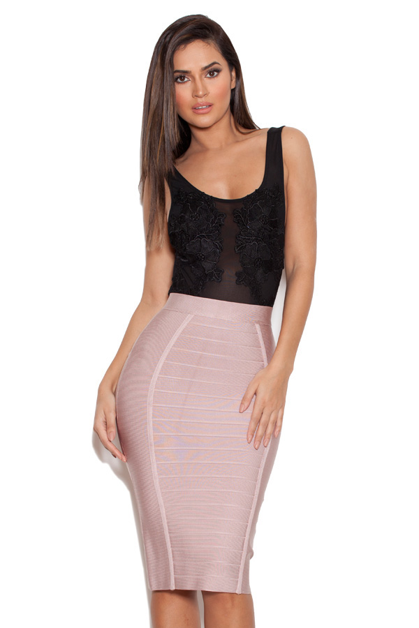How to long wear bandage skirt